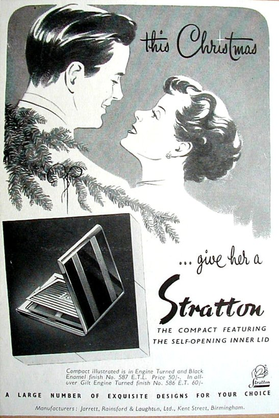 1950 Stratton ad for Country Life & Ideal Home
