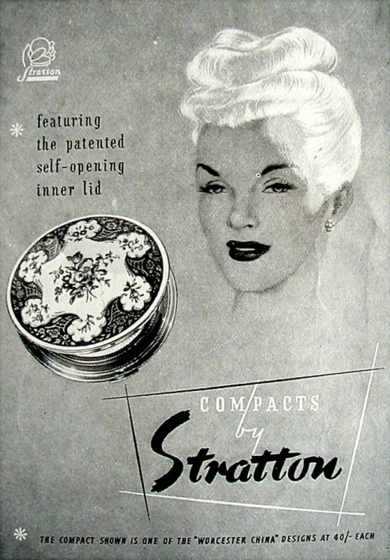 Stratton's 1953 ad for Woman & Home magazine