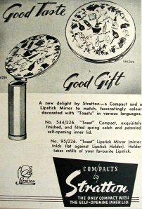 Stratton's 1954 ad for Everywoman magazine