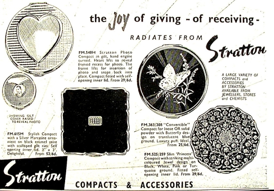 Stratton's 1959 ad for My Home magazine
