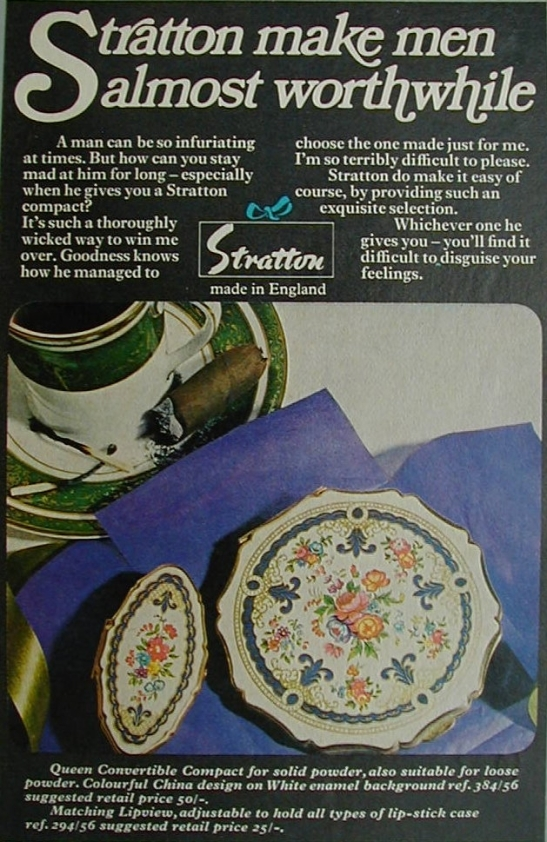 Stratton's 1970 ad for Readers Digest magazine