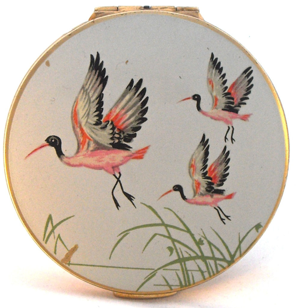 An early 1950s Stratton powder compact for loose powder