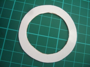 The sifter ring cut out
