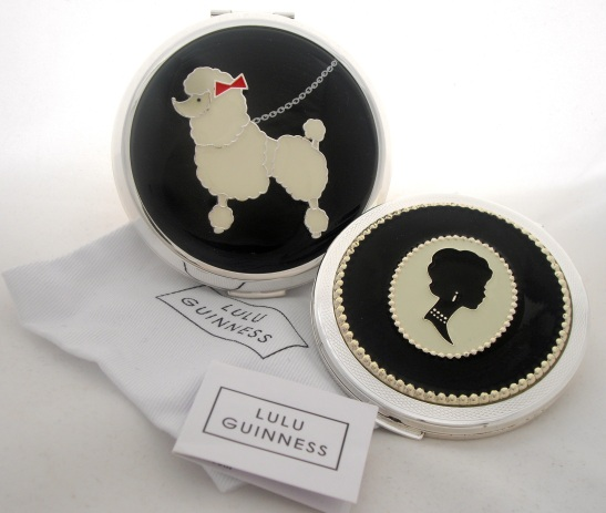 Lulu Guinness powder compacts vintage style