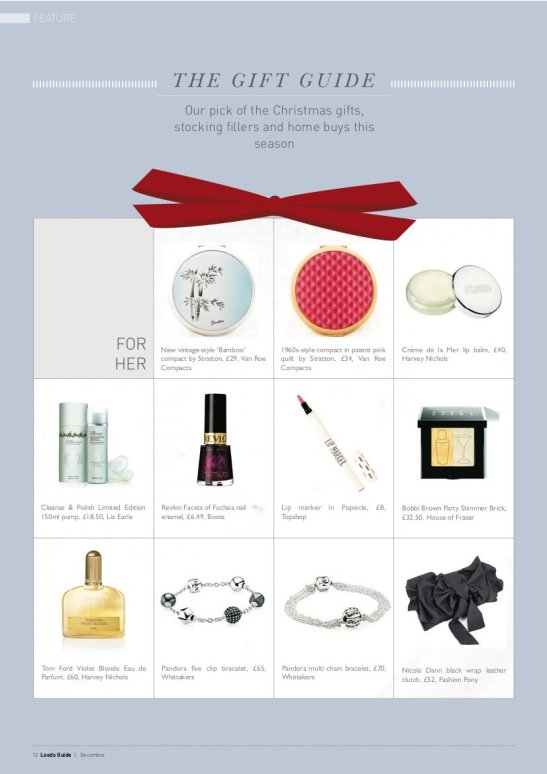 vanroe powder compacts in the leeds guide christmas gift