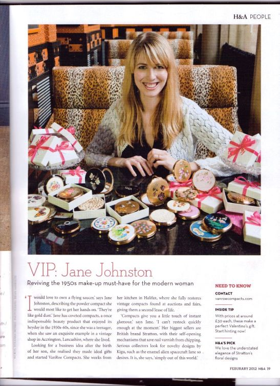 Me, in Homes & Antiques Magazine