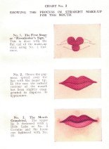 lipstick 1930 cupids bow