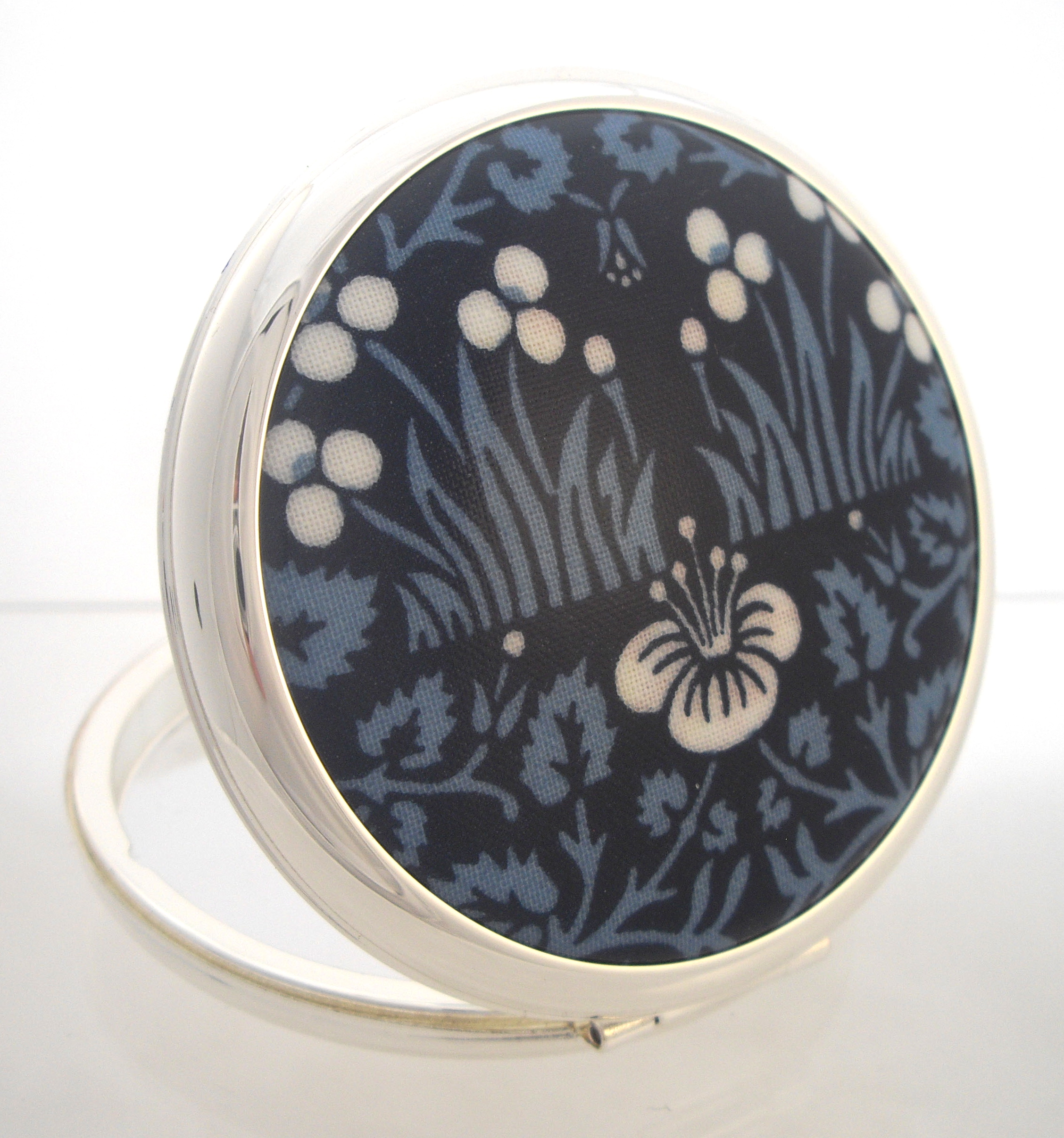 Stratton powder compact new William Morris design