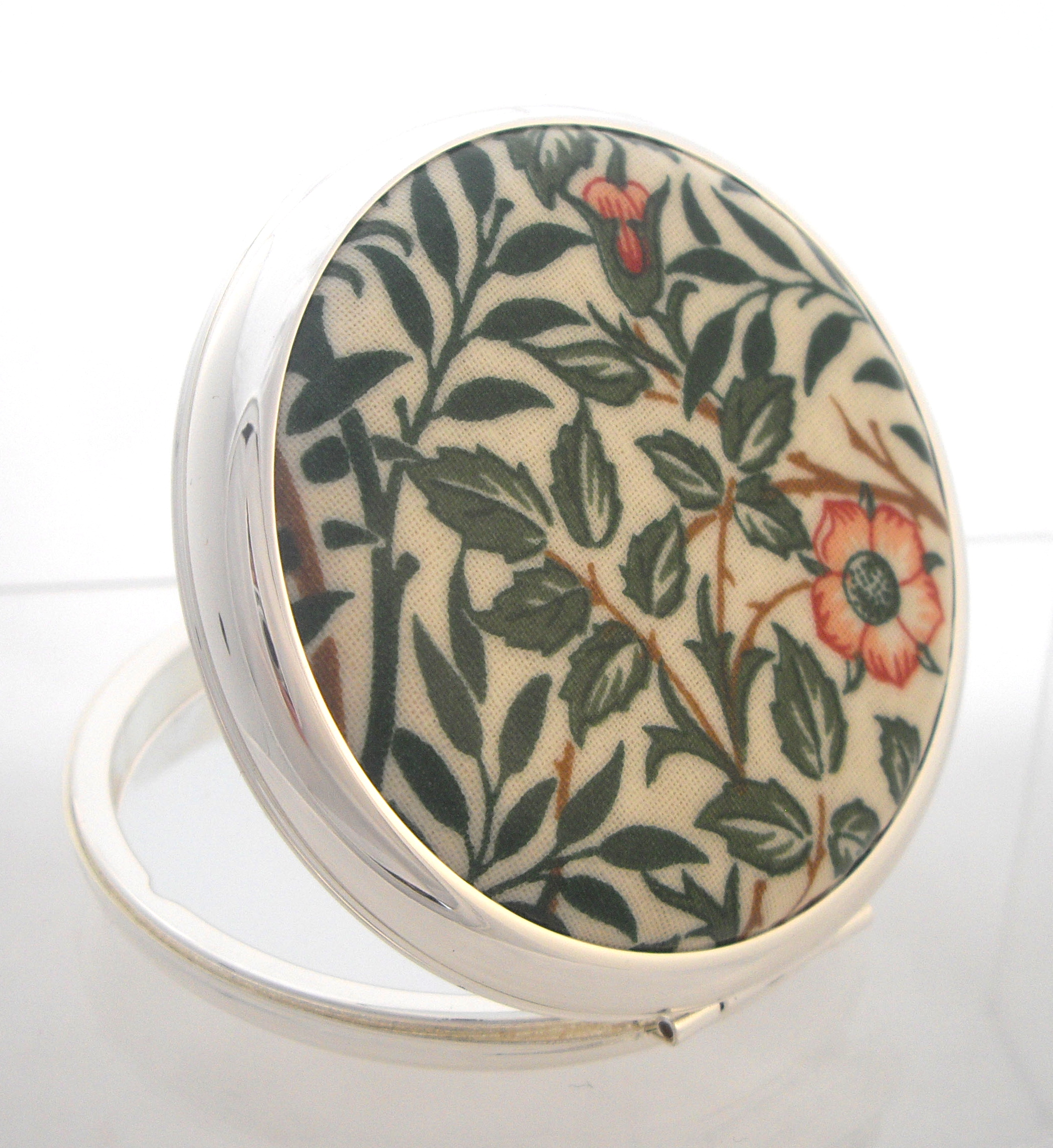 Powder compact WIlliam Morris