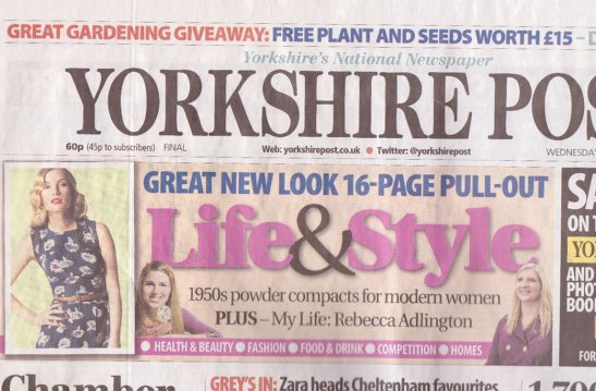 Vanroe Jane Johnston Yorkshire Post