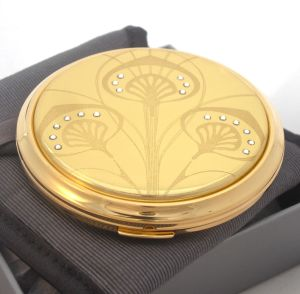 Vicci Art Nouveau powder compact