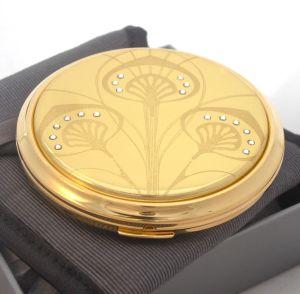 Vicci Art Nouveau powder compact