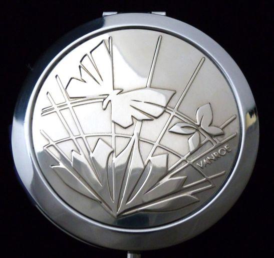 My Art Deco Butterfly compact mirror - VANROE