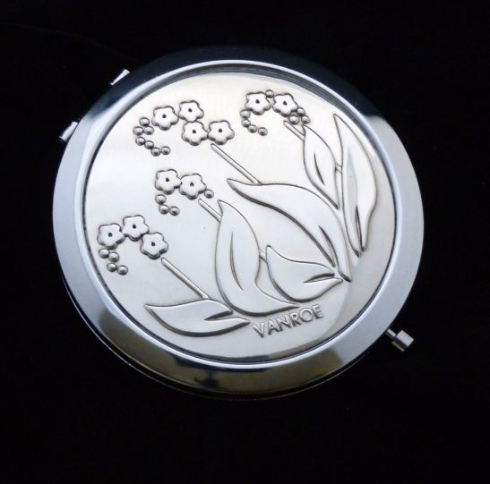 Forget Me Not compact mirror by VANROE