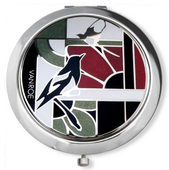 Magpie compact mirror