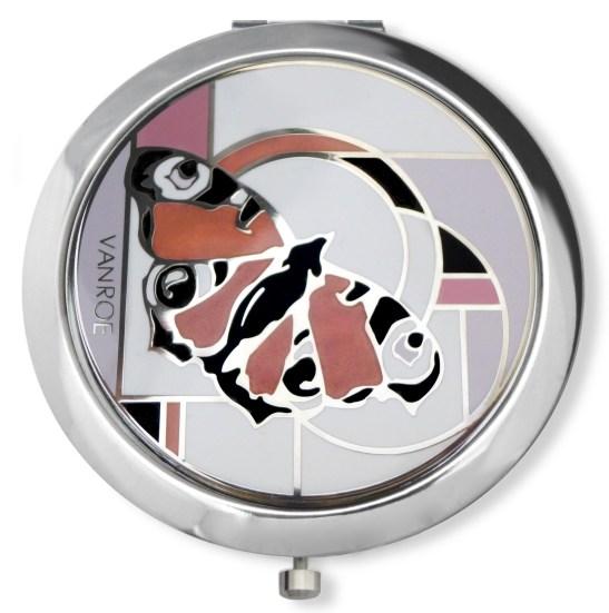 butterfly compact mirror vanroe